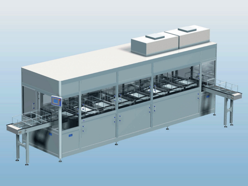MTC Automated Ultrasonic Cleaner