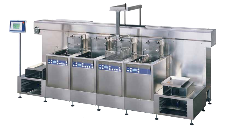 Multi-Frequency Modular Ultrasonic Parts Cleaner