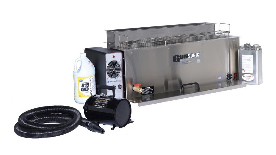 Ultrasonic Gun Cleaning System