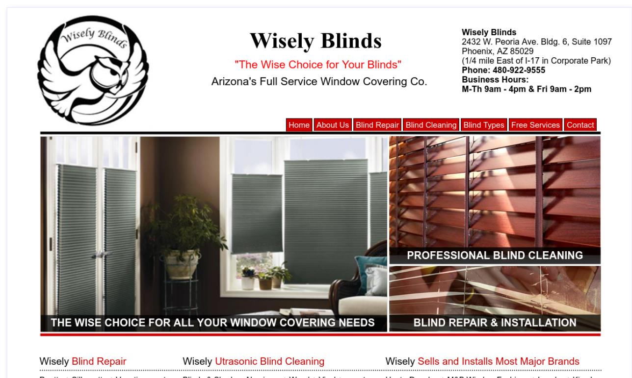 AAA Wisely Blinds