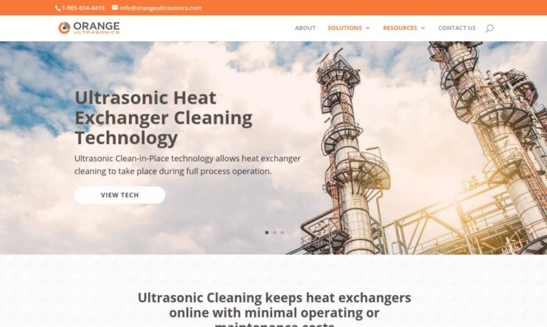 ORANGE Cleantech Inc.