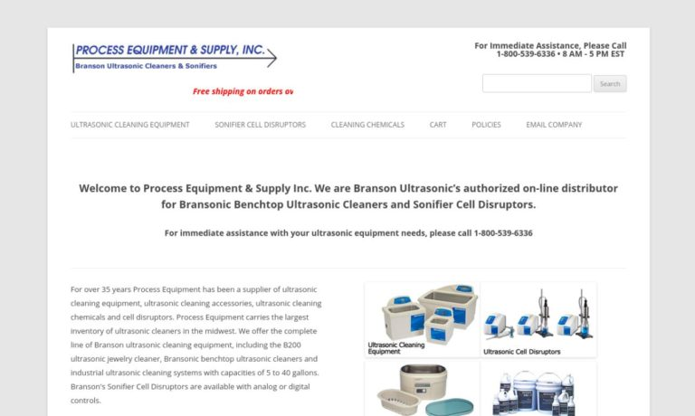 Process Equipment and Supply Co.