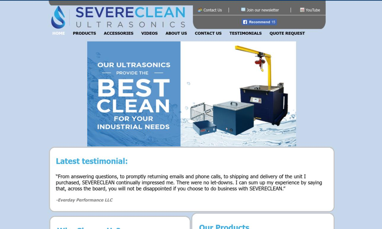 Severe Clean Ultrasonics