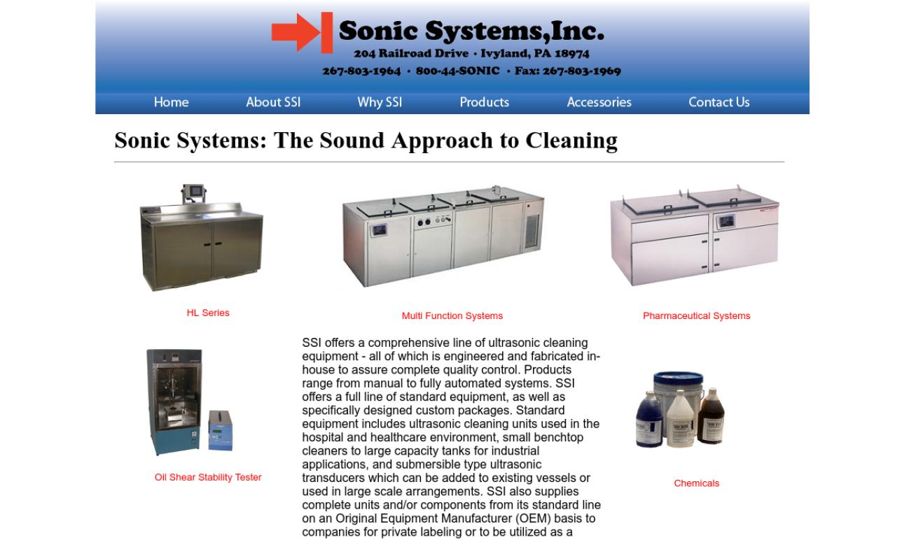 Sonic Systems, Inc.