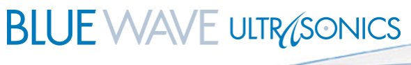 Blue Wave Ultrasonics, Inc. Logo