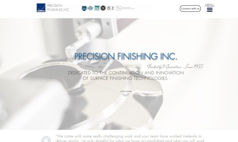 Precision Finishing, Inc.