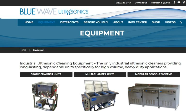 Blue Wave Ultrasonics, Inc.